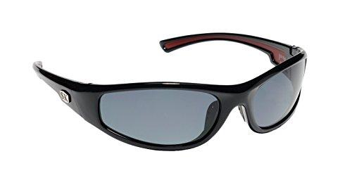 Strike King Plus Sunglasses (Black/Gray, Plastic Frames, - King Sunglasses Polarized Strike