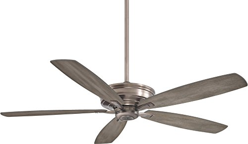 Minka Lavery F696-BNK Kafe-XL 60 Ceiling Fan, Burnished Nickel