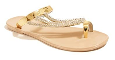 6406a674d91a6 WOMENS LADIES DIAMANTE JELLY SANDALS SUMMER FLIP FLOPS TOE POST THONG SHOES  SIZE (UK 8
