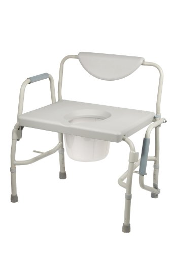 Drive Medical Bariatric Drop Arm Commode