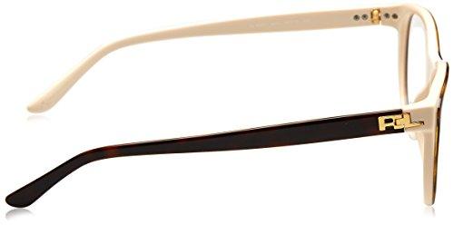 Monturas Gafas Ralph Para 54 Top Cream Lauren Havana 0rl6161 De Mujer EPgIgq