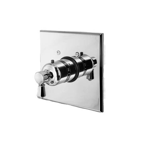 Newport Brass 3-1204TS Metropole Collection Single Handle Square Thermostatic Va, Polished - Collection Metropol