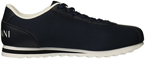 Men Armani Exchange Logo Armani X Navy Sneaker Exchange A qpfZZ6