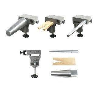 Bench Anvil Multi Tool Kit (Anvil, Round Bracelet , Ring Mandrels, Pin) (Jewelers Bracelet Mandrel)