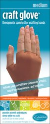 Edmunds - Craft Glove 1/Pkg-Medium (Therapeutic Craft Glove)