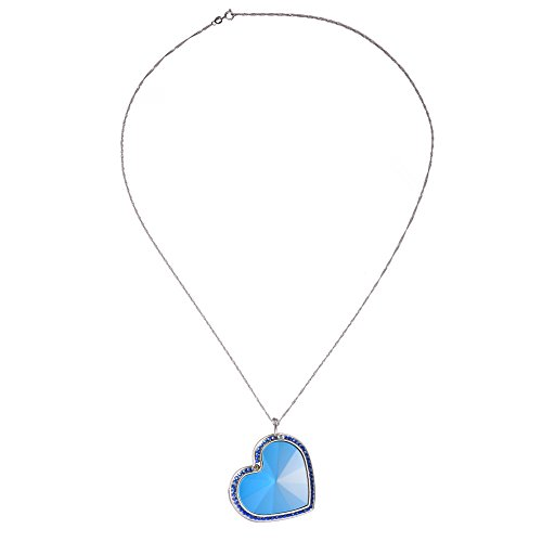 Luerme Children GPS Tracker Necklace Girls Anti-Lost Necklace GPS Positioning Pendant SOS Alarm 925 Silver Necklace Locator Tracker Fashionable Clothes Accessories for Kids by Luerme