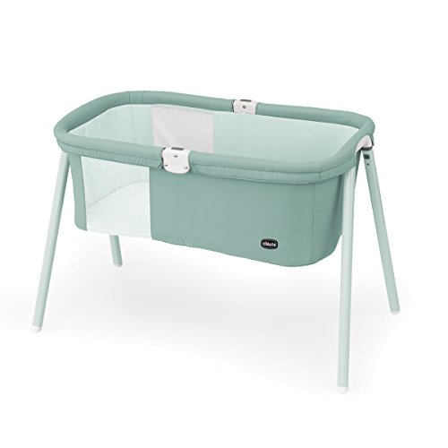 Image of the Chicco LullaGo Bassinet, Grey Mist
