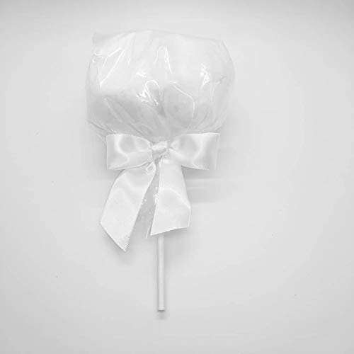 White Cotton Candy Pops 12 count