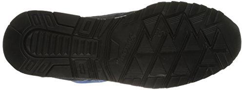 Saucony, Uomo, Shadow 6000 Betta Pack Azzurre Nere, Suede / Mesh, Sneakers, Blu