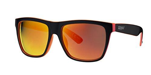 Sol Azul Multicoating Zippo Gafas Unisex de Lens Medium xF4BCq