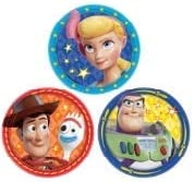 Cups Napkins and ElevenPlus2 Straws Plates Toy Story 4 Party Kit