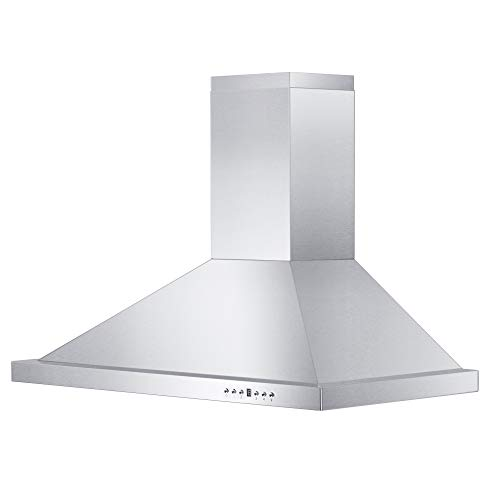 Wall Mount Dishwasher Steel Stainless - Z Line KB-36 Stainless Steel Wall Mount Range Hood, 36-Inch