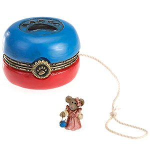 Boyds Bears Duncan's Ol' Time Yo-Yo with Stringer McNibble Hinged Box 4022174 - NEW! (Duncan Box)