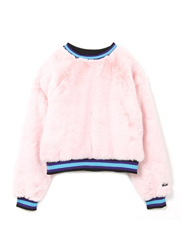 X-girl(エックスガール) FUR CREW NECK PULLOVER