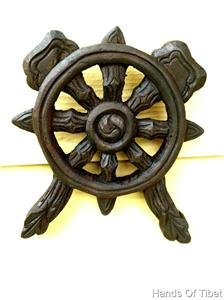 Handmade Wooden Wheel Dharma Hanging