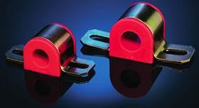 (Sway Bar Bushing Set Bar Dia. 24mm Red)