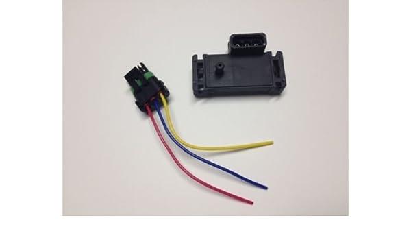 GM 3 BAR MAP Manifold Pressure Sensor For Electromotive Motec Megasquirt /& Plug