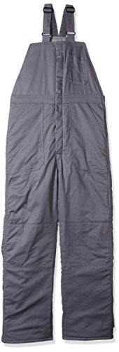 - Bulwark Men's Deluxe Insulated Bib Overall-Big/Tall, Grey, Large