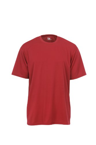 badger-sportswear-boys-b-dry-tee-red-medium
