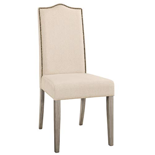 Carolina Chair and Table Romero Parson Chair in Weathered Gray - Traditional Parsons Chair Chair