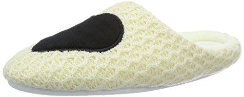 kamoa Pssilje - Pantuflas cálidas con forro Mujer Beige - beige (beige)