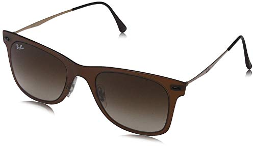 Ray-Ban 0RB4210 Sunglasses, Brown, 50mm x 22mm x 140mm (Wayfarer Light Ray)