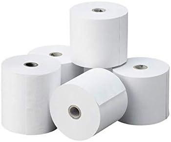 Sumedtec - Rollos de papel térmico para caja registradora, 57 x 57 mm, 20 rollos por caja