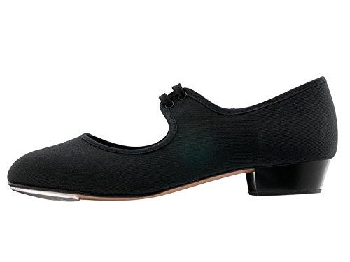 UK Low Childs Dancewear PU Heel Dance Ladies Black Katz 2 Girls Shoes Tap By C7UqA1wxZ
