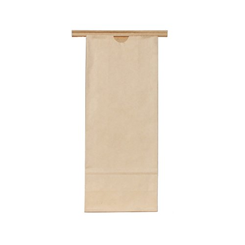 - AwePackage 1 lbs(16 oz) Kraft Paper Grease Resistant Tin Tie Bag (100)