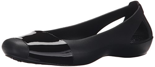 Crocs Womens Sienna Shiny Flat product image