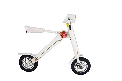 LEHE K1S Foldable Electric Bike Scooter 27KMH 8.8AH 35-45KM Range With Free LEHE Original Case (White) Sellink Exclusive