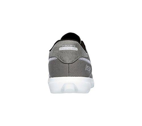 Skechers en el ir reencuentro zapatilla de deporte Charcoal