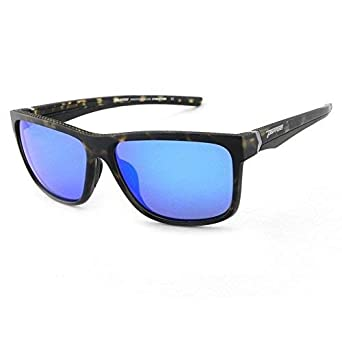 4ea741028b Peppers Polarized Sunglasses Telluride Matte Tortoise with Blue Mirror Lens
