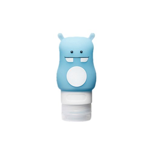 SaveStore Silicone Refillable Portable Mini Animal Horse Traveler Packing Bottle Press Bottle for Lotion Shampoo Bath Three ()