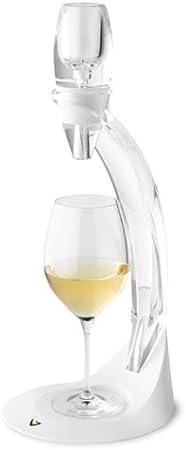 Vinturi Set Aireador, instantaneo, de vino blanco, Plástico