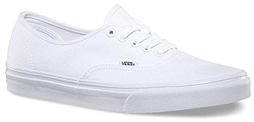 Vans Unisex Classic Authentic Sneakers True White, US Men 6.5