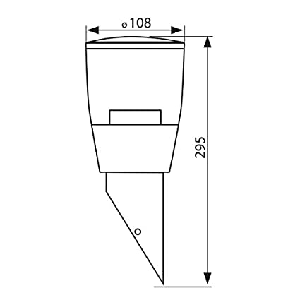 Garten & Terrasse Led Aussen-wandleuchte Sorta Für Garten Terrasse Hof Aluminiumlegierung Schwarz