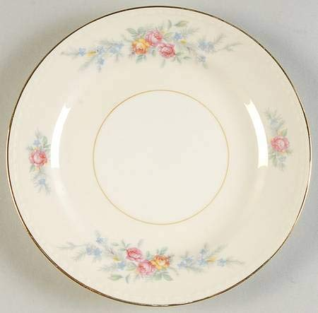 - Homer Laughlin Cashmere Bread and Butter Plate 6 1/4