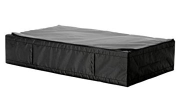 IKEA 1 Skubb (Black Color Underbed Storage Case, with Zipper) Approx 36.1/2 x 21.3/4 x 7.1/2