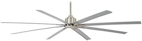 Minka Aire Xtreme H2O 84 in. Indoor/Outdoor Brushed Nickel Wet Ceiling Fan