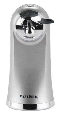 West Bend 77203 Electric Can Opener, Metallic (Discontinued by Manufacturer)