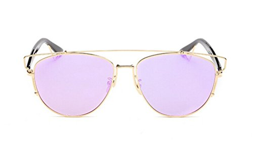 195bf828197 GMAT Retro Vintage Mirrored Aviator Sunglasses Metal Frame Classic Style
