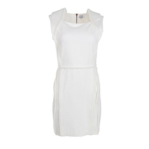 rdm-by-rue-du-mail-womens-milano-knit-mesh-trim-casual-dress-white-l