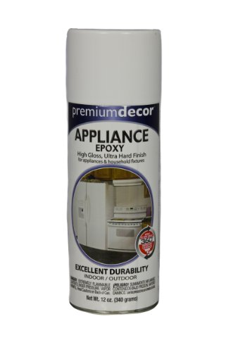appliance epoxy spray paint white - 9
