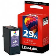 Lexmark Genuine Brand Name, OEM 18C1529 No. 29A  Color Inkje