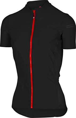 Castelli Promessa 2 Full-Zip Jersey - Women's Black/Red, ()