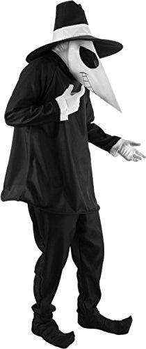 [Spy Vs Spy Black Spy Adlt S] (Spies Costumes)