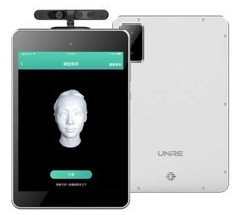 UNRE 3D face scanning on Android Platform
