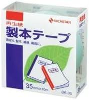 (業務用100セット) ニチバン 製本テープ BK-35 35mm×10m パステル緑 ×100セット