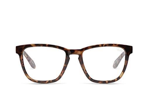 Quay Australia Women's Hardwire Glasses (Tort, Clear Blue ()
